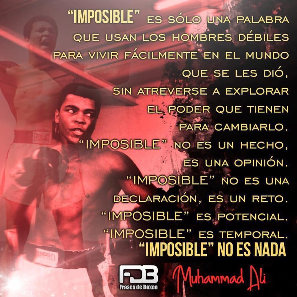 Muhammad Ali Impossible Is Nothing Fdb Plus