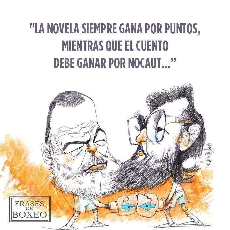 Julio Cortázar y Ernest Hemingway
