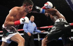 Zurdo Ramirez pelea contra Jesse Hart