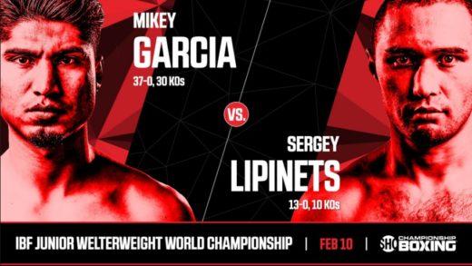 Mikey García retará a Sergey Lipinets por el título súper ligero