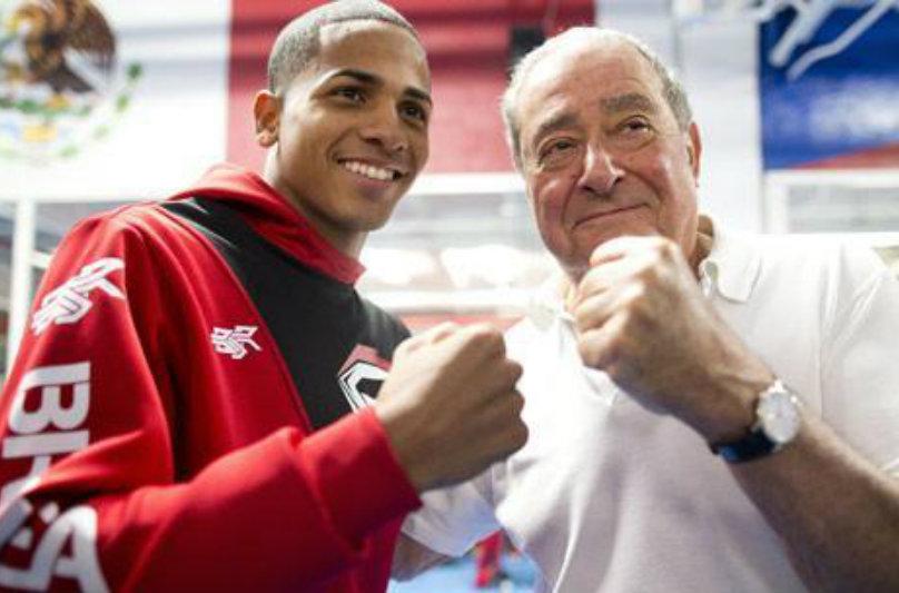 Félix Verdejo & Bob Arum (Top Rank Boxing)