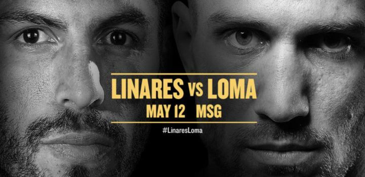 Resultado de imagen para linares vs lomachenko poster
