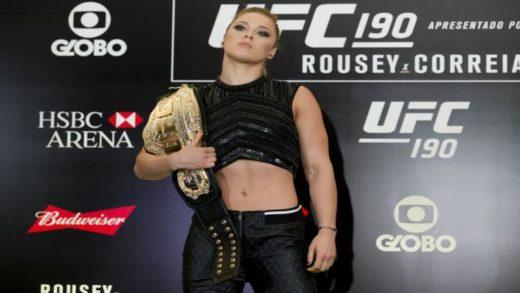 RONDA ROUSEY AL SALÓN DE LA FAMA DE LA UFC