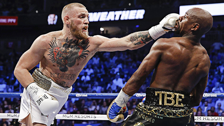 Conor McGregor & Floyd Mayweather (Showtime Boxing)