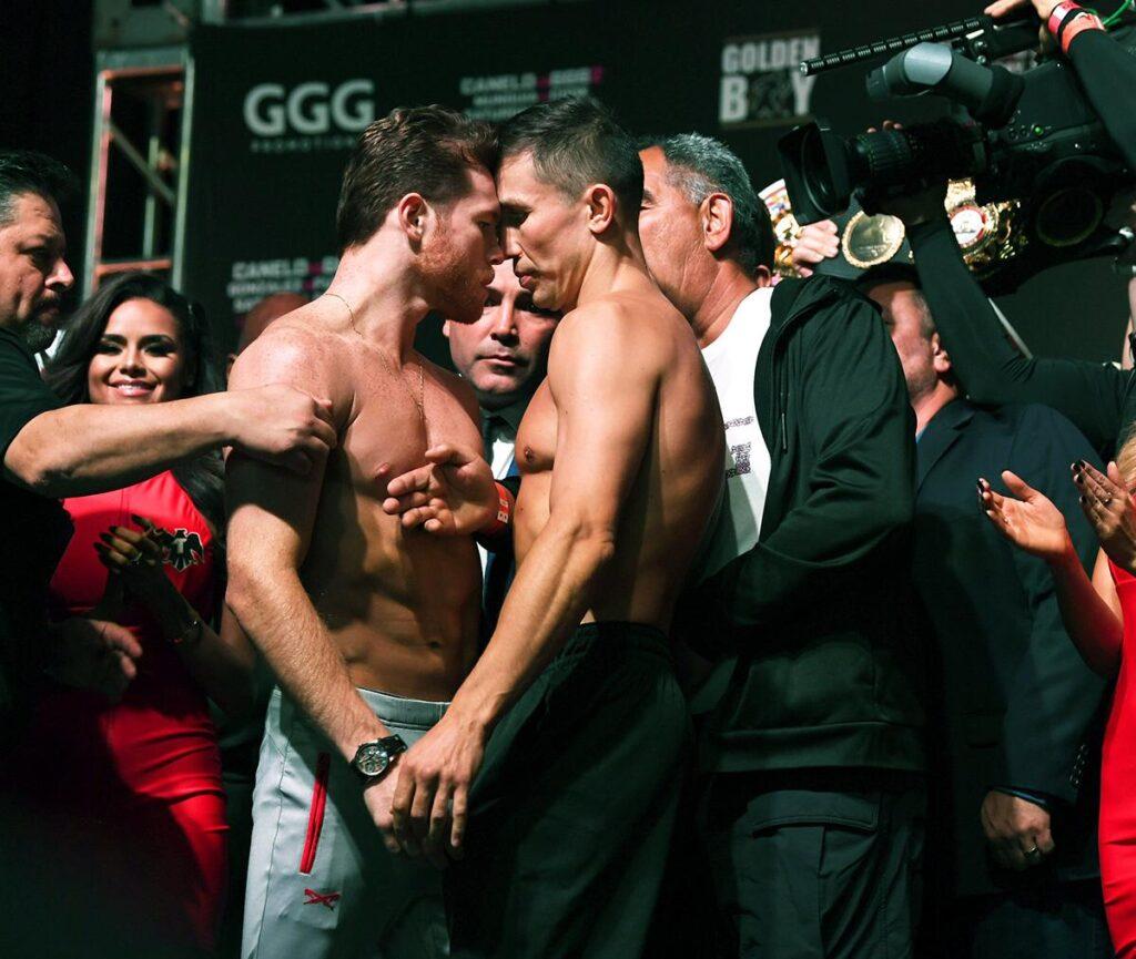 Canelo Álvarez vs Gennady Golovkin II
