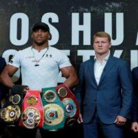 Anthony Joshua vs Alexander Povetkin