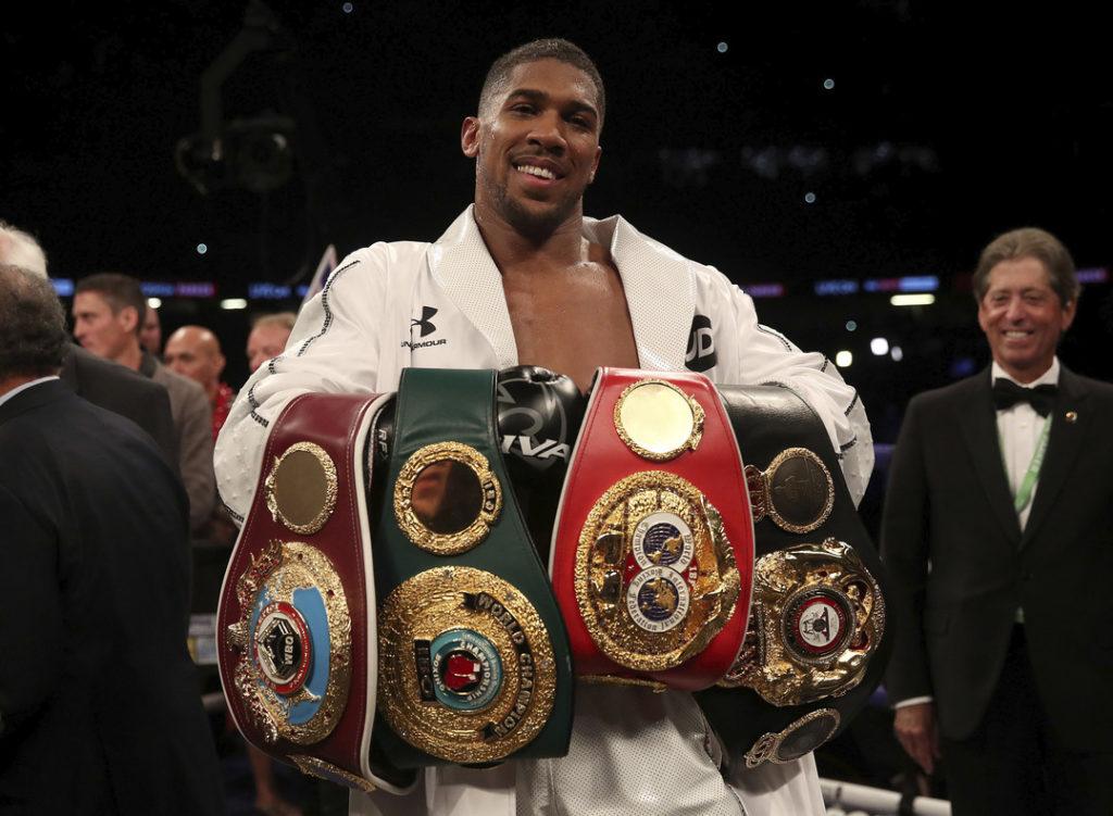 Britain Joshua Parker Boxing