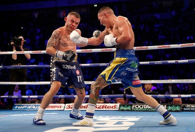 Carl Frampton & Josh Warrington (Matchroom Boxing)
