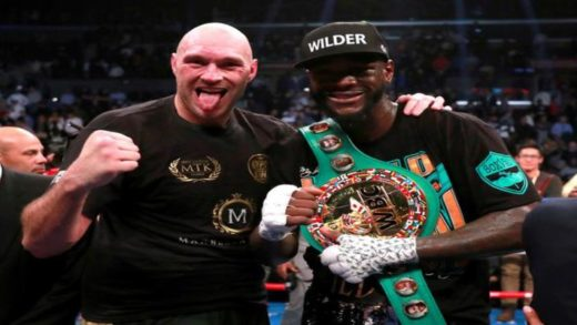 WILDER Y FURY PODRÍAN COMPARTIR CARTLERA CON ANTHONY JOSHUA