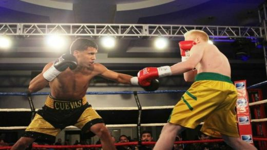 DERRIECK CUEVAS VS ED PAREDES: RUMBLE AT THE ROCK IV