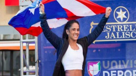 AMANDA SERRANO GALARDONADA 'ATLETA DEL AÑO' EN LA PARADA DE PUERTO RICO