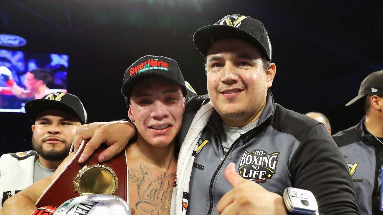 Oscar Valdez y Eddy Reynoso (ESPN)