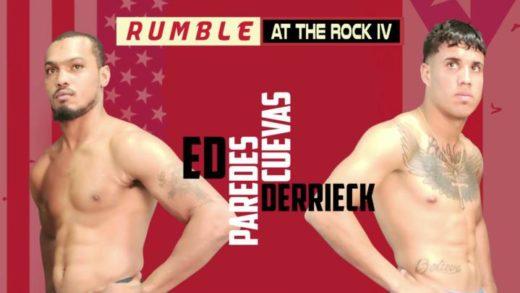 """SIGUE TOMANDO FORMA LA CARTELERA """"RUMBLE AT THE ROCK IV"""""""