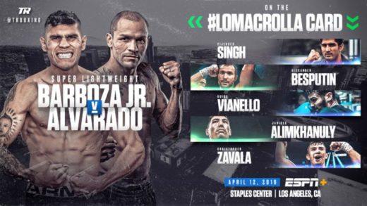COMPLETADO EL UNDERCARD DE LOMACHENKO VS CROLLA