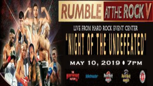 RUMBLE AT THE ROCK V: 'NOCHE DE INVICTOS'