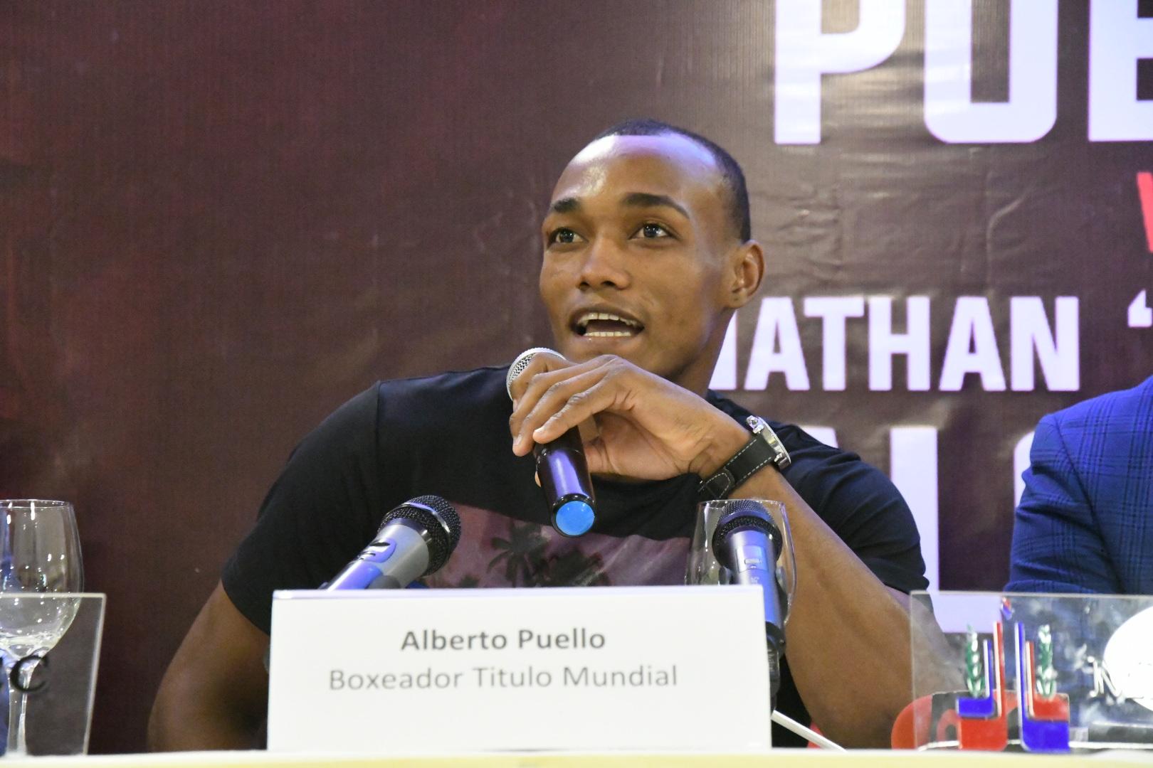 Alberto 'La Avispa' Puello (Shuan Boxing)