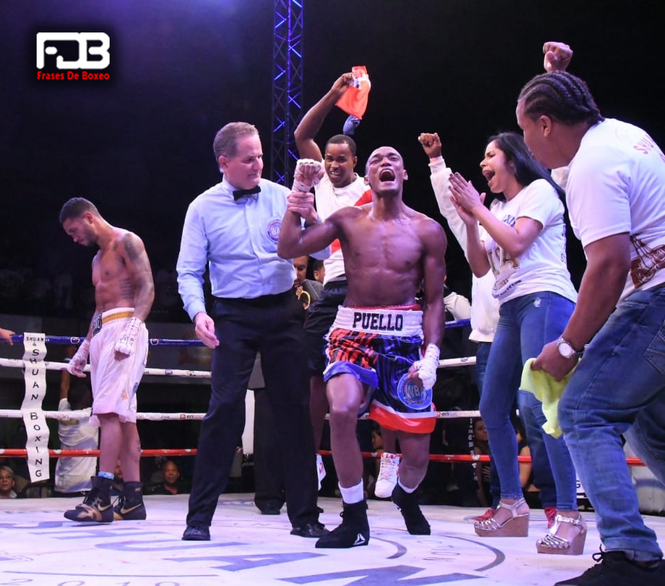 Alberto Puello celebra su victoria