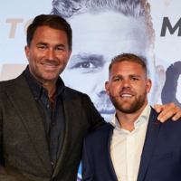 Eddie Hearn - Billy Saunders (Foto Cortesía)
