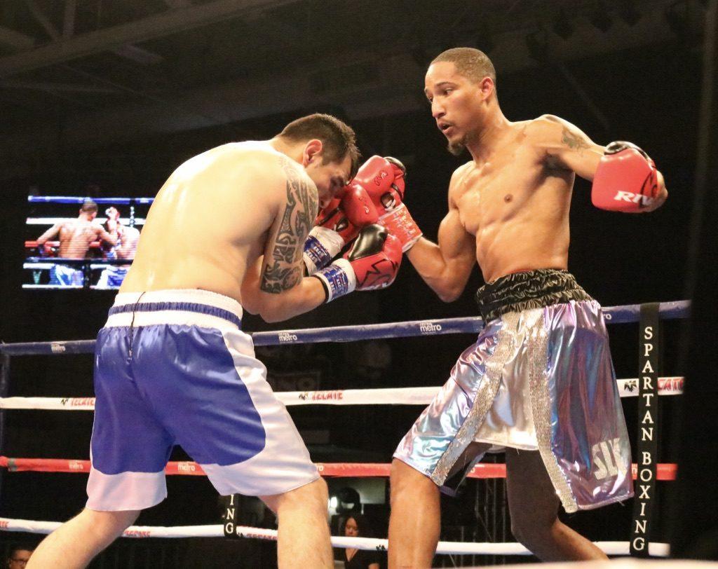 Alantez Fox in gret trunks & Bruno Romay (Fotos: Marcos Mejias Ortiz/PRBBP)