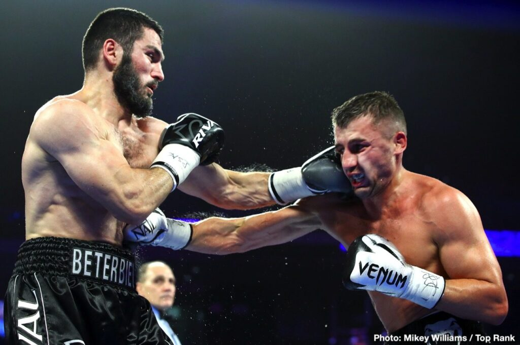 Artur Beterbiev & Oleksandr Gvozdyk (Mikey Williams Top Rank)