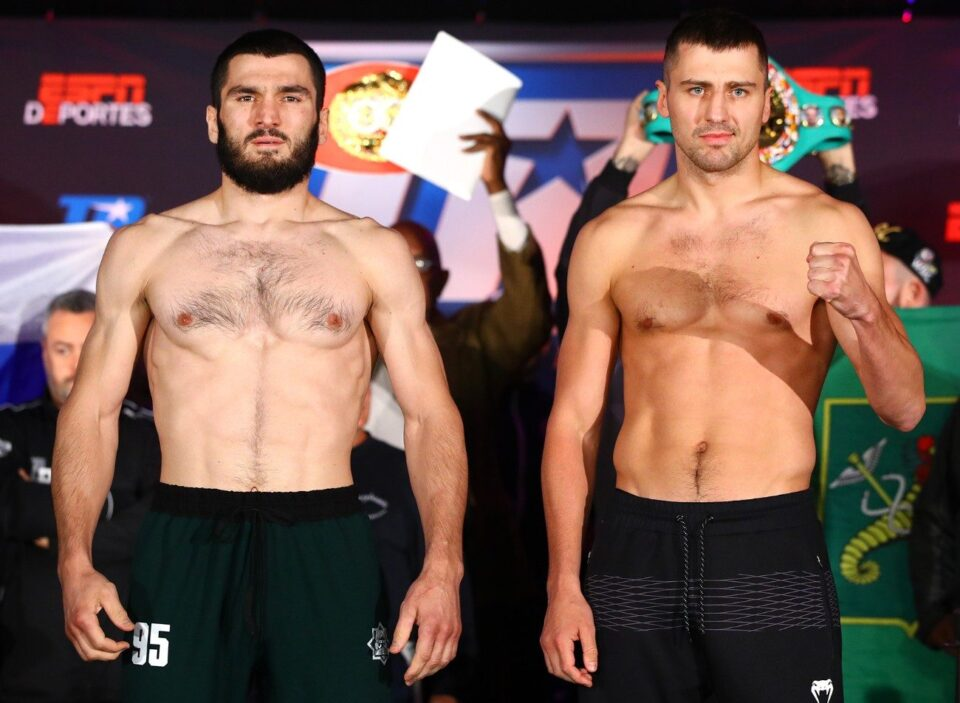 Artur Beterviev & Oleksandr Gvozdyk (Mikey Williams Top Rank)