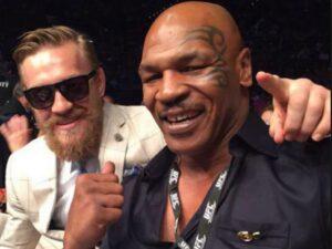 Conor McGregor & Mike Tyson (Foto Cortesía)