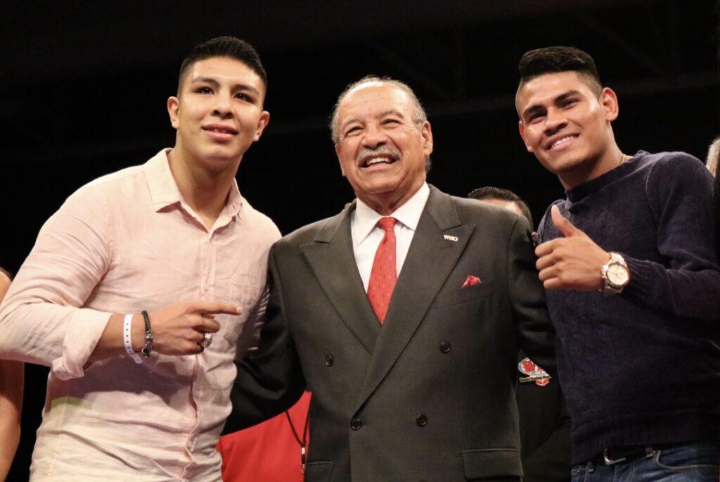 Jaime Munguía, Paco Valcarcel & Emmanuel Navarrete (Fotos: Marcos Mejias Ortiz/PRBBP)