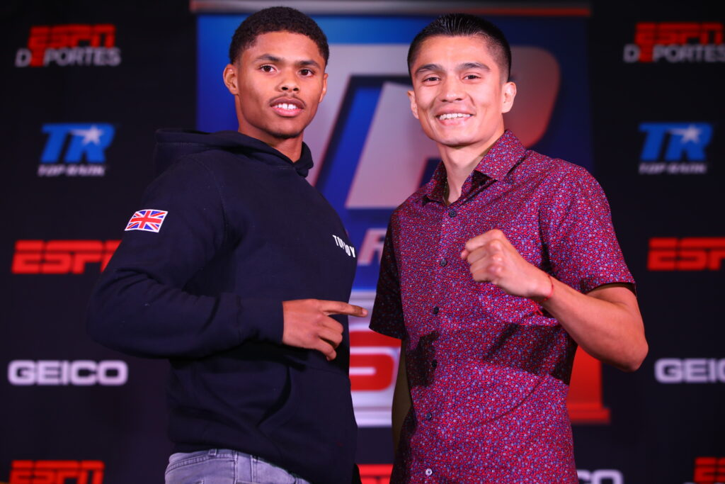 Shakur Stevenson & Joet González (Mikey Williams Top Rank)