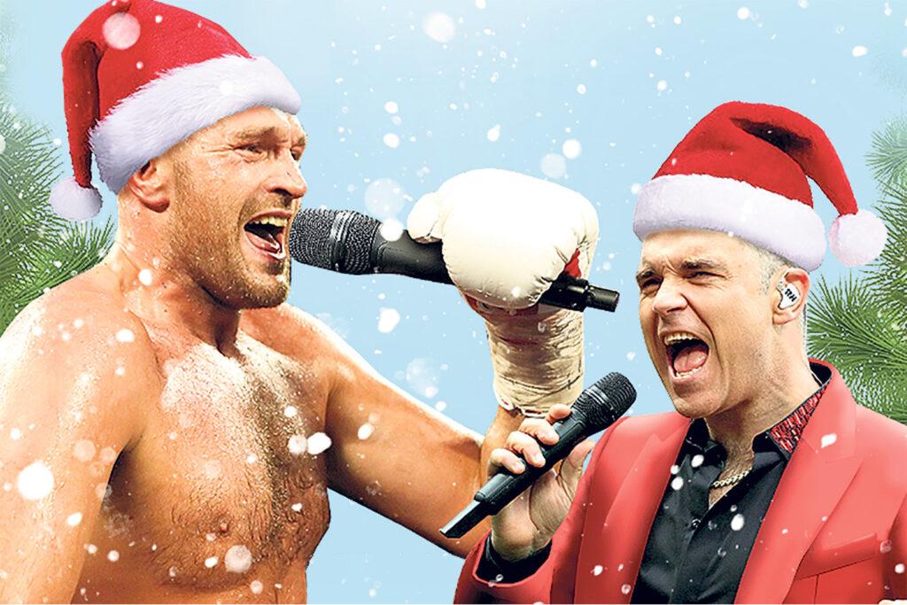 Tyson Fury & Robbie Williams 2 (Foto Cortesía)