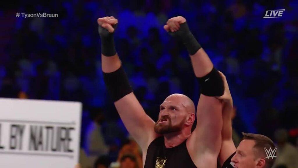 Tyson Fury (Photo By WWE)