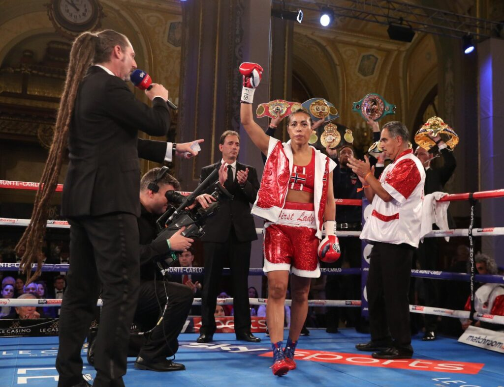 Cecilia Braekhus (Matchroom Boxing)