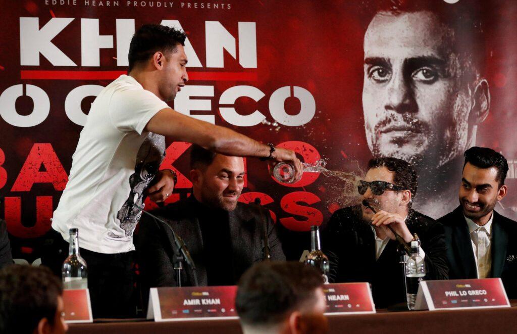 Amir Khan & Phil Lo Greco 2 (Matchroom Boxing)