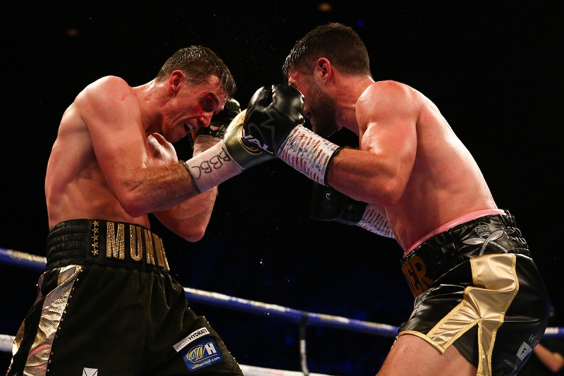 Callum Smith v John Ryder, WBA World, WBC Diamond and Ring Magazine Super-Middleweight title fight, M&S Bank Arena, Liverpool.