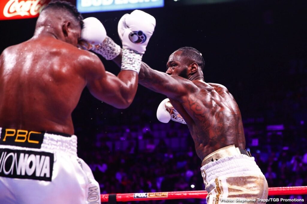Deontay Wilder (Photo by Trapp Photos)