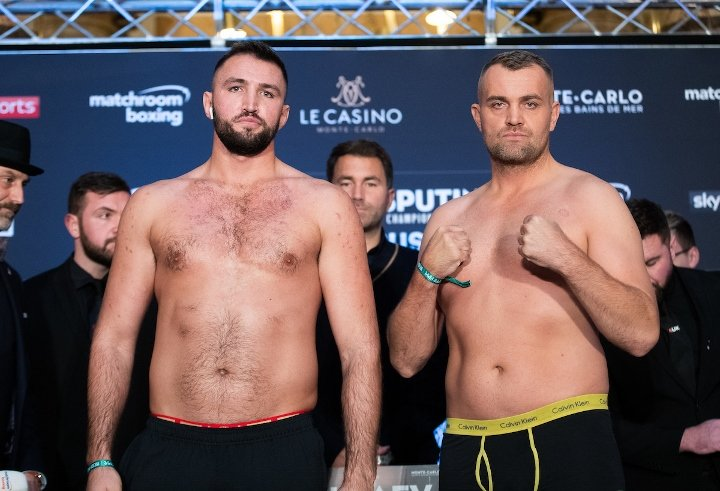 Hughie Fury & Pavel Sour