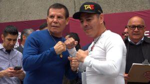 Julio César Chávez & Jorge Arce ( Foto Cortesía Rosita Gutiérrez )