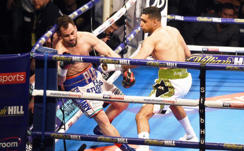 Phil Lo Greco & Amir Khan (Matchroom Boxing)
