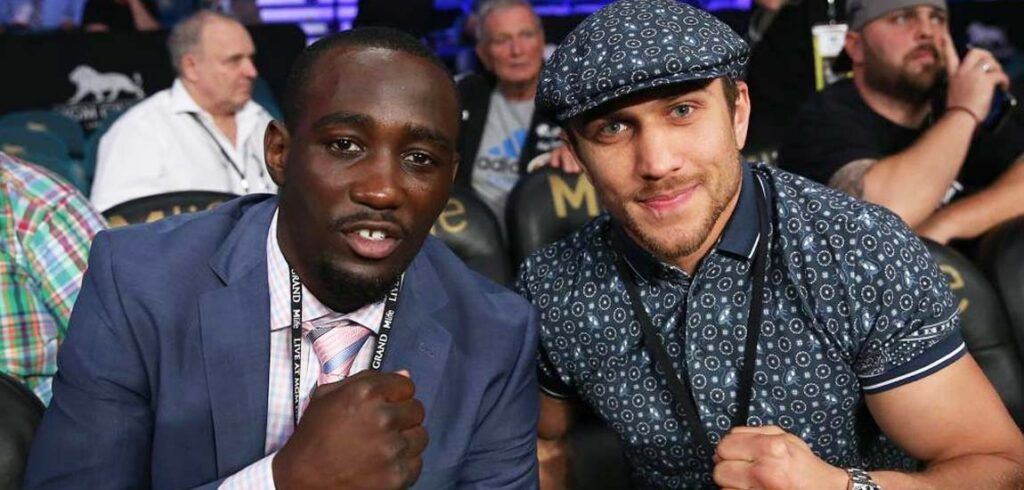 Terence Crawford & Vasyl Lomachenko (Mikey Williams Top Rank)