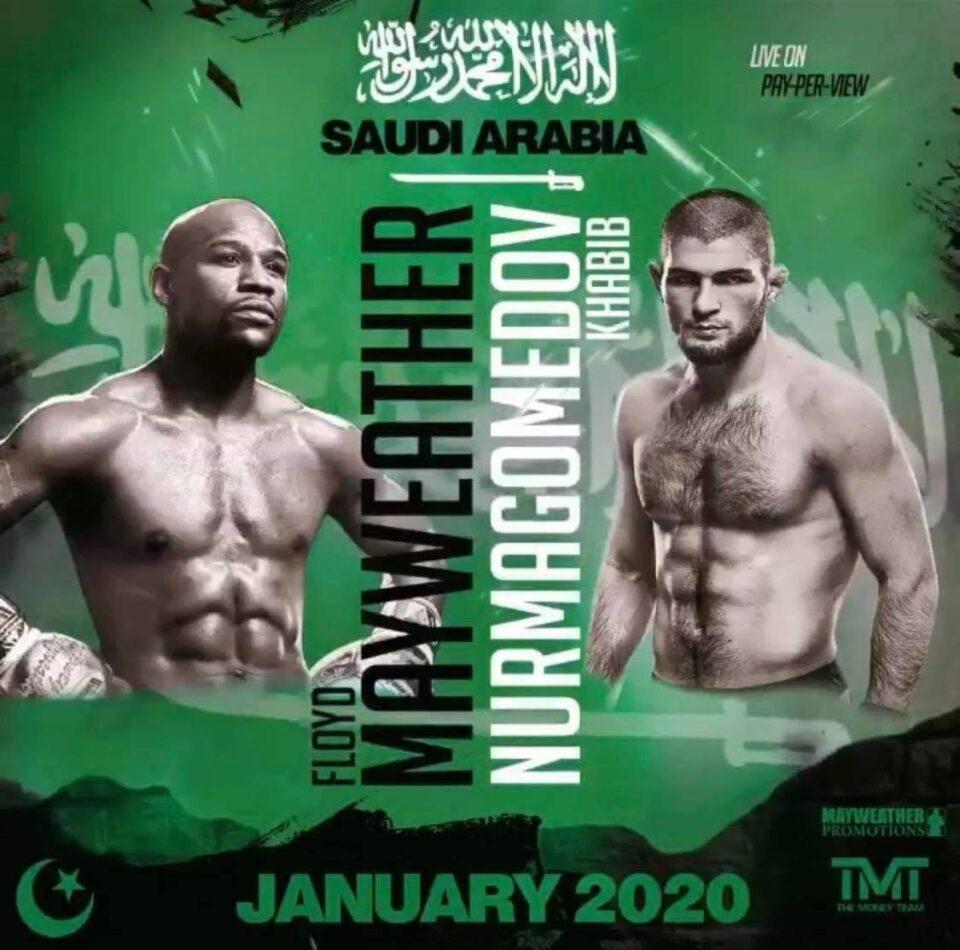 Floyd Mayweather & Khabib Nurmagomedov (Mayweather Promotions)