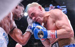 Julio César Chávez Jr ante Daniel Jacobs (Photo By: Matchroom Boxing))