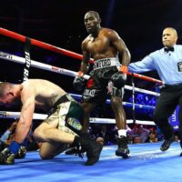 Egis Kavaliauskas & Terence Crawford (Mikey Williams Top Rank)