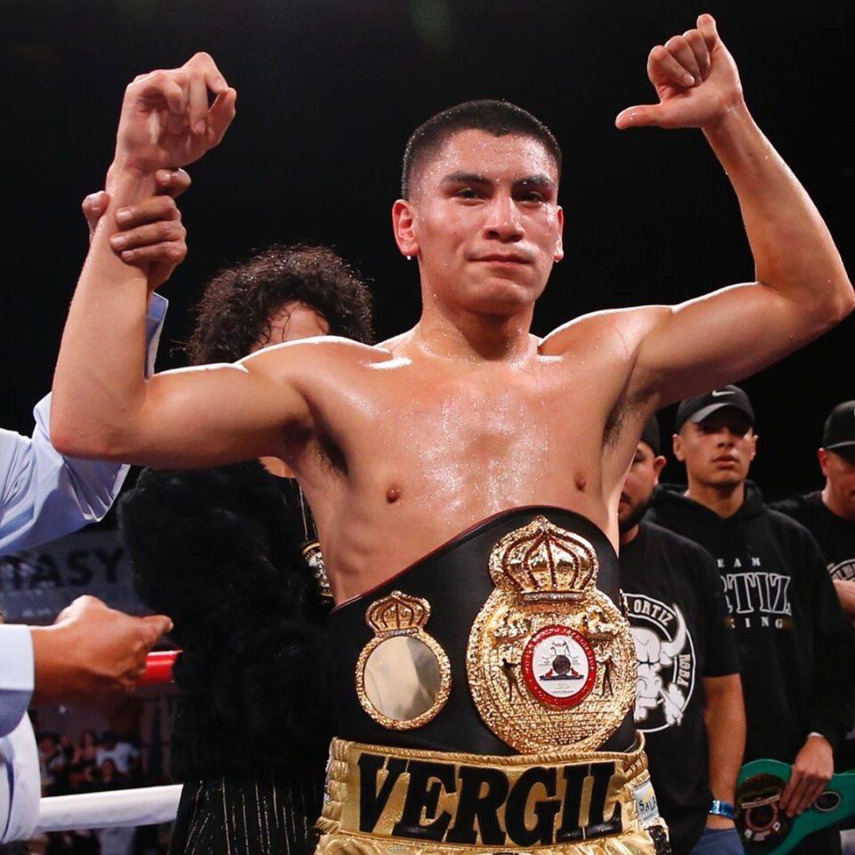 Vergil Ortíz Jr (Photo By Golden Boy Promotions)