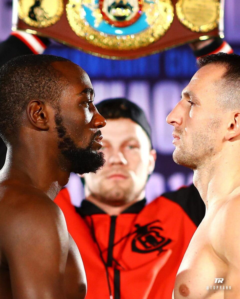 Terence Crawford & Egidijus Kavaliauskas (Mikey Williams Top Rank)