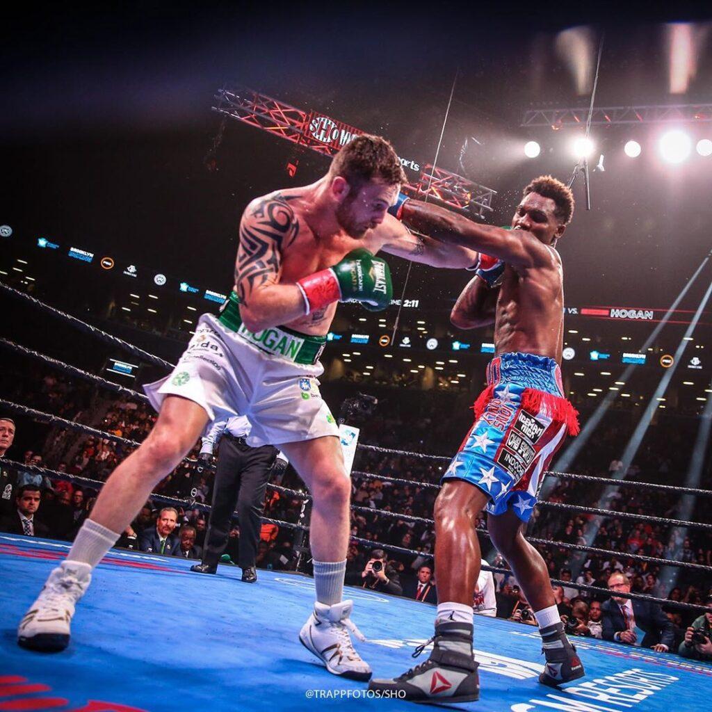 Dennis Hogan & Jermall Charlo (Stephanie Trapp/Showtime Boxing)