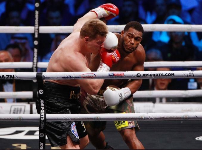 Alexander Povetkin & Michael Hunter (Matchroom Boxing)