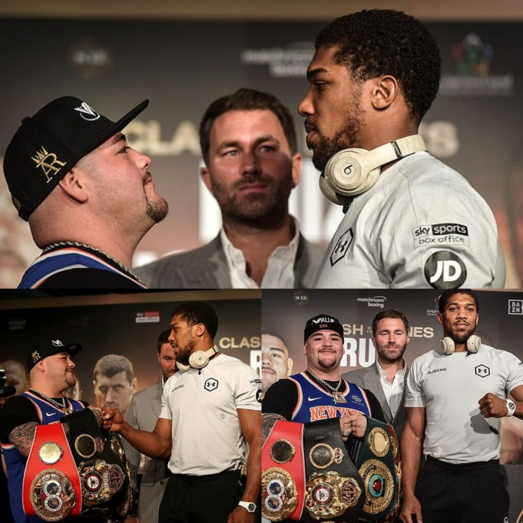 Andy Ruíz & Anthony Joshua (Foto Cortesía)