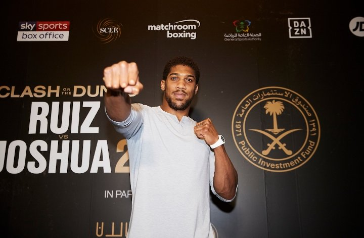 Anthony Joshua (photos by Mark Robinson)