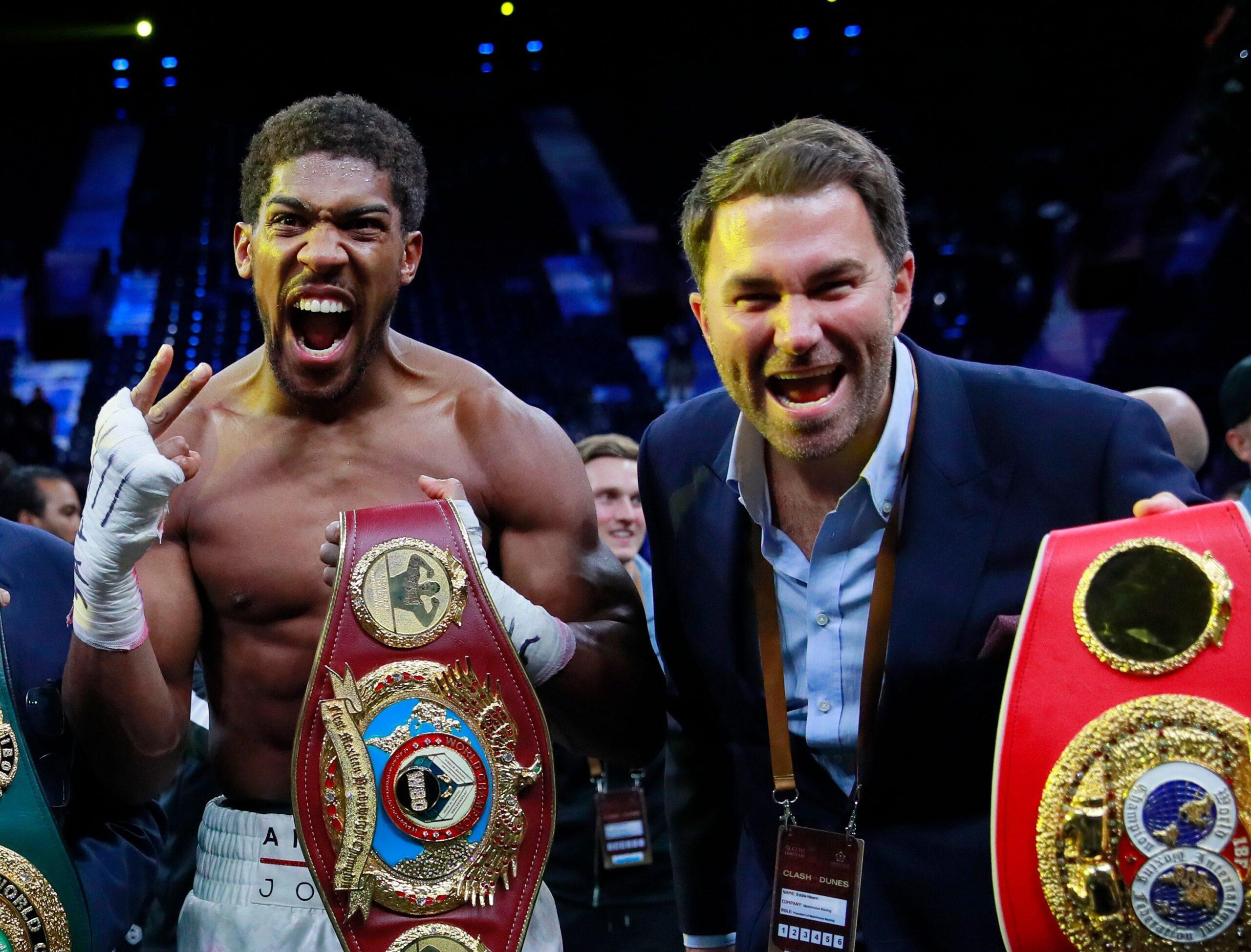 Anthony Joshua & Eddie Hearn (Matchroom Boxing)
