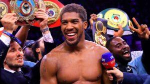 Anthony Joshua (Matchroom Boxing)