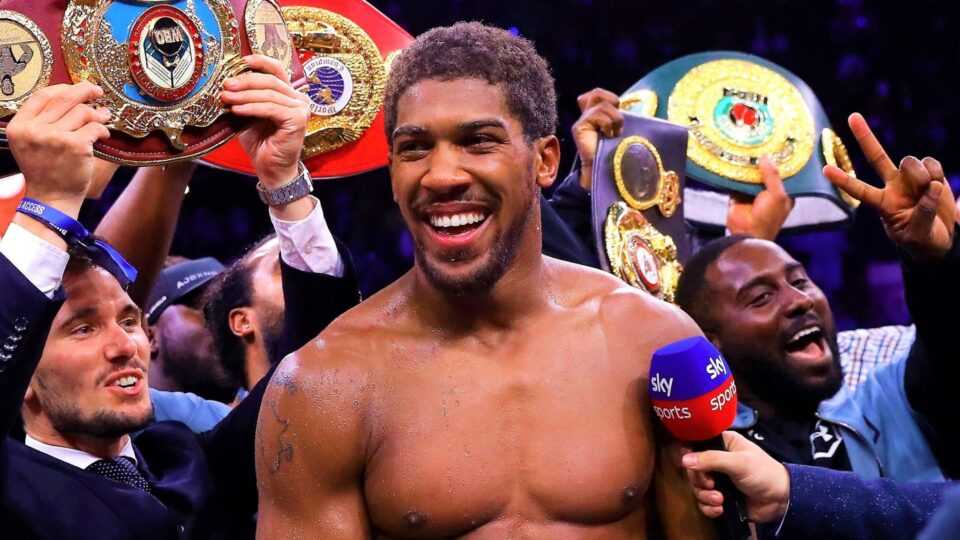 Anthony Joshua (Matchroom Boxing)
